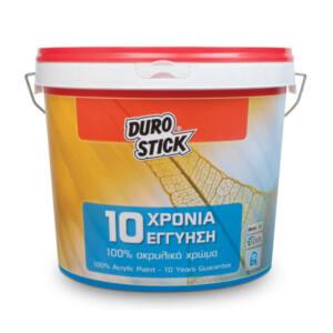 Ακρυλικό χρώμα Durostick 10 ΧΡΟΝΙΑ λευκό