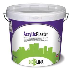 Σοβάς ACRYLIC PLASTER Kraft λευκός 25kg