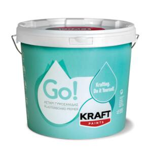 Αστάρι γυψοσανίδας GO Kraft λευκό