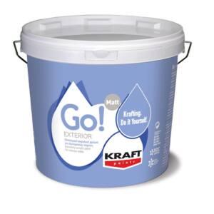 Ακρυλικό χρώμα GO EXTERIOR Kraft λευκό