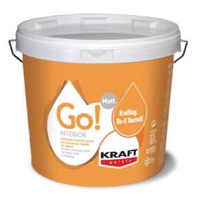 Πλαστικό χρώμα GO INTERIOR Kraft λευκό