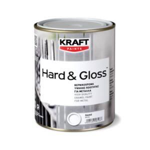 Βερνικόχρωμα Kraft HARD&GLOSS για ξύλα και μέταλλα 2,5lt