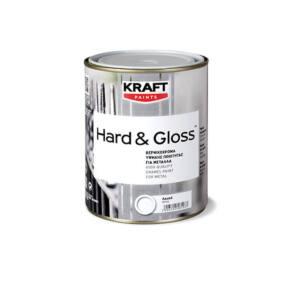 Βερνικόχρωμα Kraft HARD&GLOSS για ξύλα και μέταλλα 750ml