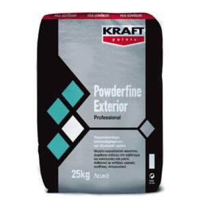 Τσιμεντόστοκος POWDERFINE EXTERIOR Kraft λευκός