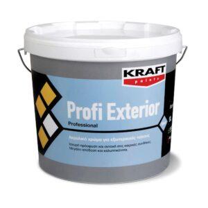 Ακρυλικό χρώμα PROFI EXTERIOR Kraft λευκό