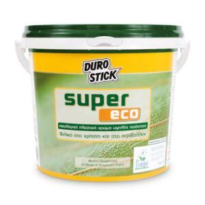 Οικολογικό πλαστικό χρώμα SUPER ECO Durostick