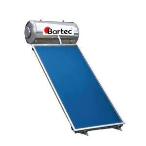 Ηλιακός θερμοσίφωνας Bartec 130lt 2m2 Δ.Ε