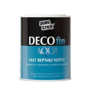 Βερνίκι νερού Durostick Decofin Aqua 750ml
