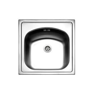 Νεροχύτης ανοξείδωτος VALLEY 24050 44.5X44.5cm