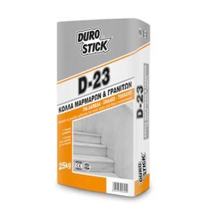 Κόλλα για μάρμαρα D-23 Durostick 25kg