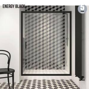 Καμπίνα ντουζιέρας ENERGY BLACK