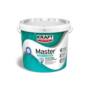 Πλαστικό χρώμα Master Easy Clean Kraft λευκό