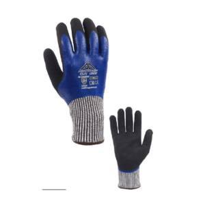 Γάντια άκοπα Active Gear μπλέ