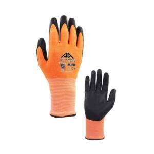 Γάντια άκοπα Active Gear πορτοκαλί