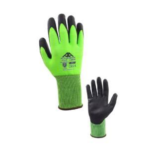 Γάντια άκοπα Active Gear πράσινα