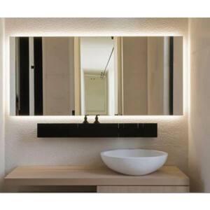 Καθρέπτης τετράγωνος με κρυφό φωτισμό led